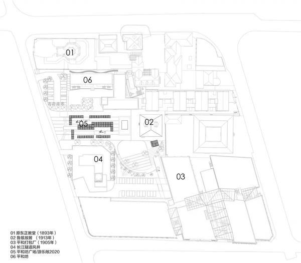 平和坊百年历史街区景观及室内公区设计